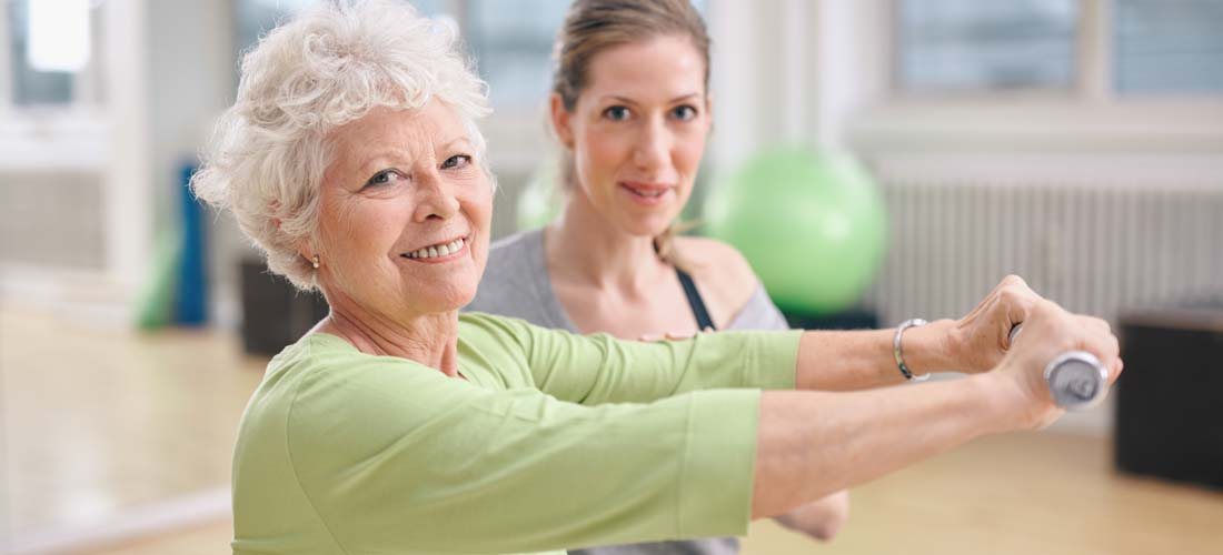 Older obese adults can benefit from moderate exercise img